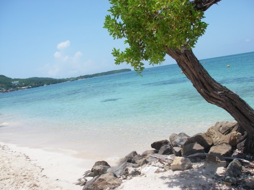 Plage du Club-Med, Sainte-Anne