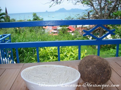 Recette purée igname de Martinique acheté au marché de Sainte-Anne